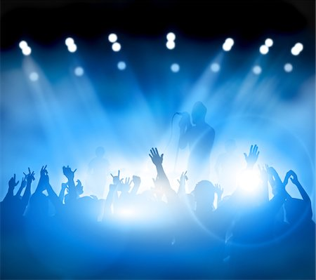 Rock band Stock Photo - Premium Royalty-Free, Code: 6106-05441238