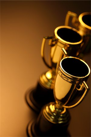 Trophies Stock Photo - Premium Royalty-Free, Code: 6106-05442723