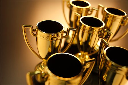 Trophies Stock Photo - Premium Royalty-Free, Code: 6106-05442724