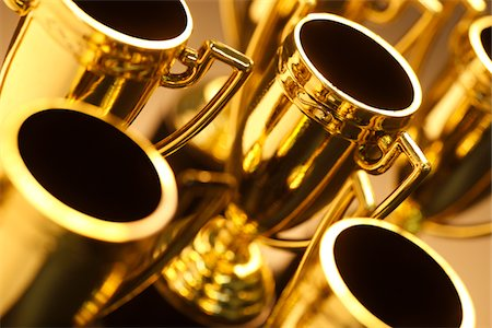 Trophies Stock Photo - Premium Royalty-Free, Code: 6106-05442726