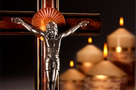 religious cross nobody - Religion - Christianity Stock Photo - Premium Royalty-Free, Code: 6106-05445761