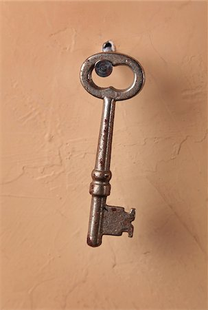 Skeleton Key Stock Photo - Premium Royalty-Free, Code: 6106-05446590