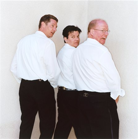 Men Pretending to Urinate Stock Photo - Premium Royalty-Free, Code: 6106-05468236