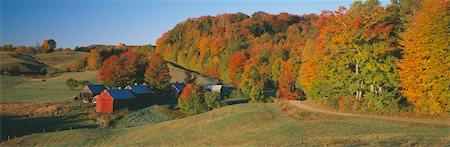 Jenny Farm, South of Woodstock, Vermont Stock Photo - Premium Royalty-Free, Code: 6106-05471774