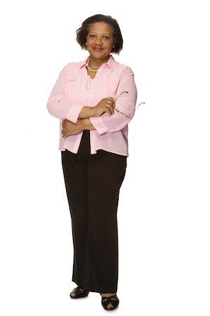 Senior woman smiling, portrait Stock Photo - Premium Royalty-Free, Code: 6106-05482655