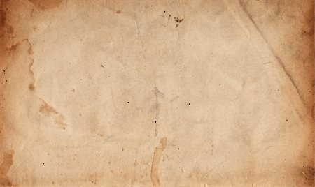 stain (dirty) - Image of an old, grungy piece of XXL paper. Stock Photo - Premium Royalty-Free, Code: 6106-05489409