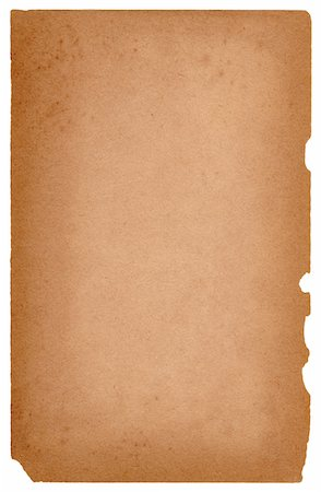 paper - Hi-Res file of an Image of an old, grungy piece of paper. Stock Photo - Premium Royalty-Free, Code: 6106-05489427