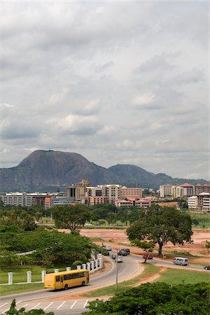 Abuja Cityscape Stock Photo - Premium Royalty-Free, Code: 6106-05491879