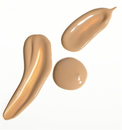 Blob of beige foundation Stock Photo - Premium Royalty-Free, Code: 6106-05494744