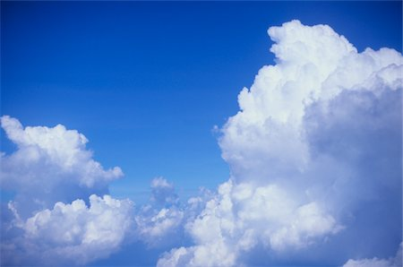 fluffy - Clouds viewed from above Stock Photo - Premium Royalty-Free, Code: 6106-05496674
