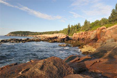 Maine Coast, USA Stock Photo - Premium Royalty-Free, Code: 6106-05402750