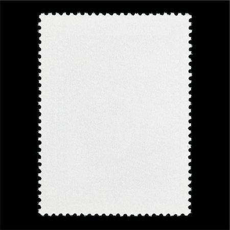 stamped - Blank postage stamp Stock Photo - Premium Royalty-Free, Code: 6106-05403541