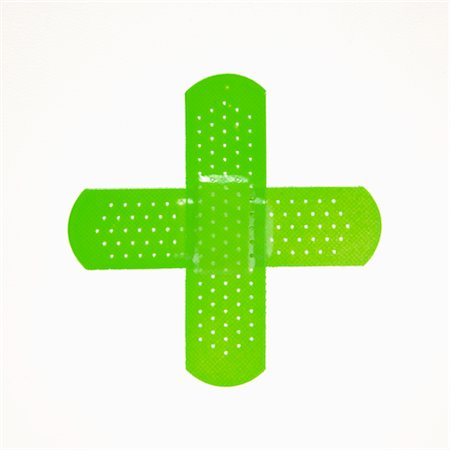 Green bandages. Stock Photo - Premium Royalty-Free, Code: 6106-05403906