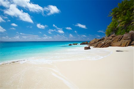 seychelles - Tropical beach, Seychelles, Indian Ocean, Africa Stock Photo - Premium Royalty-Free, Code: 6106-05405566