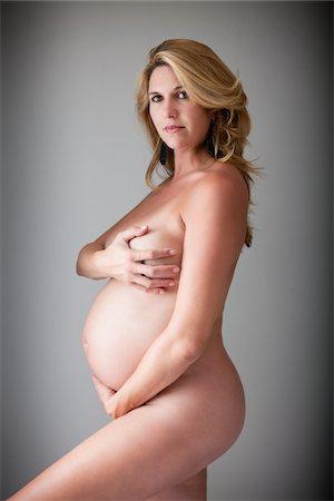 pregnancy nude - Fine Art Pregnancy Stock Photo - Premium Royalty-Free, Code: 6106-05406267