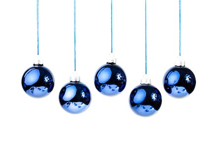 Christmas in blue Stock Photo - Premium Royalty-Free, Code: 6106-05406300