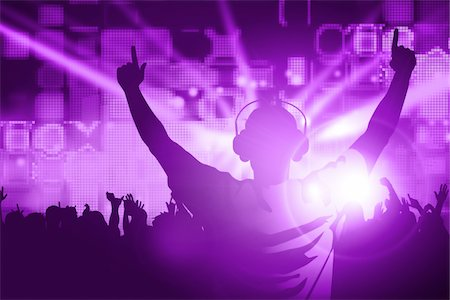 DJ Stock Photo - Premium Royalty-Free, Code: 6106-05406334