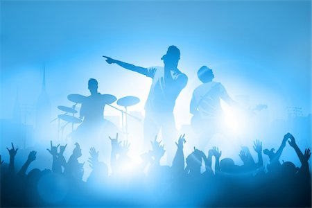 Outdoor band Stock Photo - Premium Royalty-Free, Code: 6106-05406336