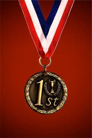 First Place Medal Stock Photo - Premium Royalty-Free, Code: 6106-05406561