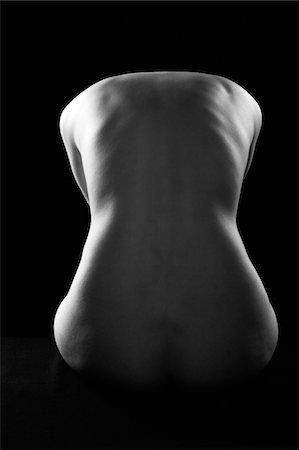 Nude Female Figure Stock Photo - Premium Royalty-Free, Code: 6106-05407065