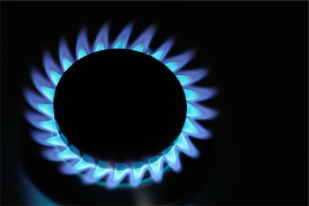 flame - Gas flame. Stock Photo - Premium Royalty-Free, Code: 6106-05407707