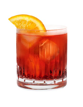 Negroni cocktail Stock Photo - Premium Royalty-Free, Code: 6106-05407729