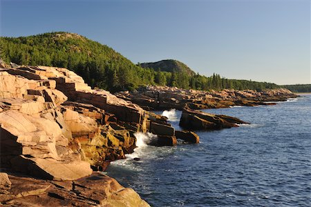 Acadia National Park, Maine, USA Stock Photo - Premium Royalty-Free, Code: 6106-05408264