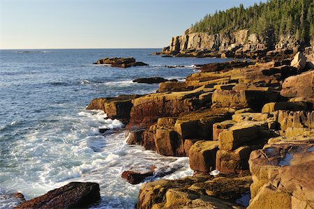 Acadia National Park, Maine, USA Stock Photo - Premium Royalty-Free, Code: 6106-05408265
