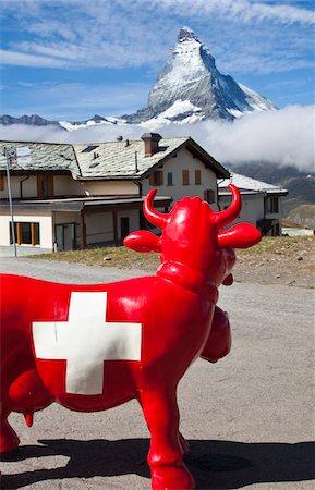 The Matterhorn, view from Gornergrat Stock Photo - Premium Royalty-Free, Code: 6106-05408297