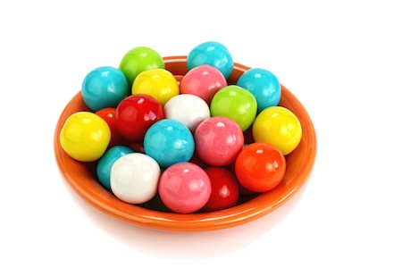 Bubblegum Balls Stock Photo - Premium Royalty-Free, Code: 6106-05408444