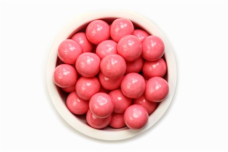 Pink Bubblegum Balls Stock Photo - Premium Royalty-Free, Code: 6106-05408446