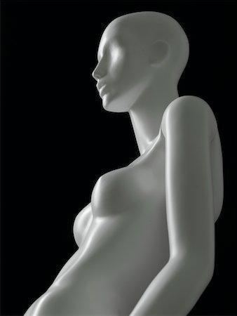 Nude mannequin Stock Photo - Premium Royalty-Free, Code: 6106-05408631