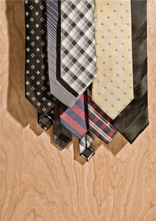 A weeks worth of men's ties Stock Photo - Premium Royalty-Free, Code: 6106-05408777