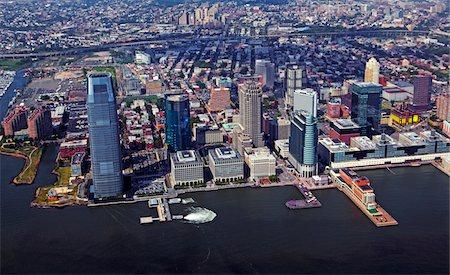 Skyline of New Jersey. Stock Photo - Premium Royalty-Free, Code: 6106-05408718