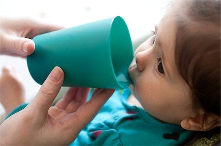 drinking water glass - Knack Health&Wellness Stock Photo - Premium Royalty-Free, Code: 6106-05409653