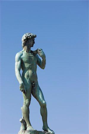 statue of david - statue of David Stock Photo - Premium Royalty-Free, Code: 6106-05410821