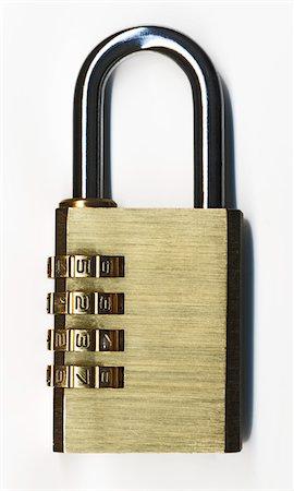 closed padlock Stock Photo - Premium Royalty-Free, Code: 6106-05413875