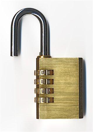 open padlock Stock Photo - Premium Royalty-Free, Code: 6106-05413876