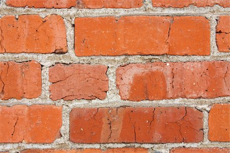 solid - Old Brick Wall Stock Photo - Premium Royalty-Free, Code: 6106-05423962