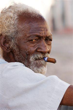old man in trinidad Stock Photo - Premium Royalty-Free, Code: 6106-05428651