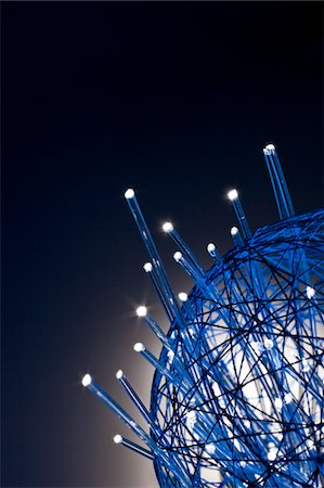 fiber optics nobody - gather up the fiber optics Stock Photo - Premium Royalty-Free, Code: 6106-05433437