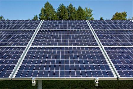 solar panel usa - Solar Panels Stock Photo - Premium Royalty-Free, Code: 6106-05435195