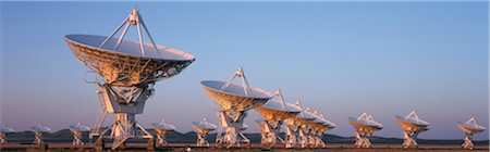 radio telescope - Very Large Array Radio Telescopes, New Mexico, USA Stock Photo - Premium Royalty-Free, Code: 6106-05590032