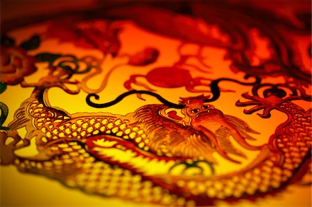 stencils - Close-up of dragon stencil Stock Photo - Premium Royalty-Free, Code: 6106-05507419