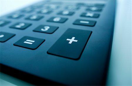 Close up of calculator Stock Photo - Premium Royalty-Free, Code: 6106-05510691