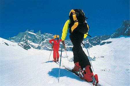 Cross-Country Skiing Stock Photo - Premium Royalty-Free, Code: 6106-05640310