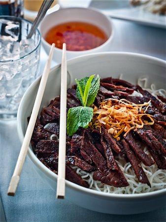 rib - Vietnamese vermicelli with beef Stock Photo - Premium Royalty-Free, Code: 6106-05603181