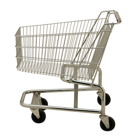empty shopping cart - Shopping Cart Stock Photo - Premium Royalty-Free, Code: 6106-05621870
