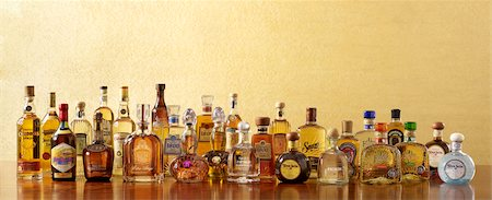 Assorted Tequilas Stock Photo - Premium Royalty-Free, Code: 6106-05787669