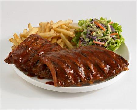 rib - BBQ Ribs Stock Photo - Premium Royalty-Free, Code: 6106-05787976